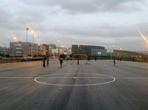 pistas multideportivas, sarriguren