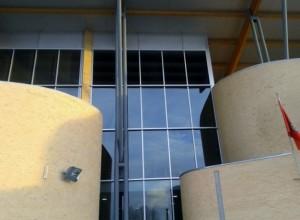 Ciudad Deportiva de Sarriguren entrada