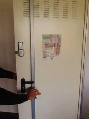 Seguridad en los trasteros de sarriguren - Puertas roper ...