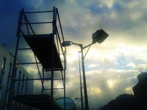 Luz en Sarriguren