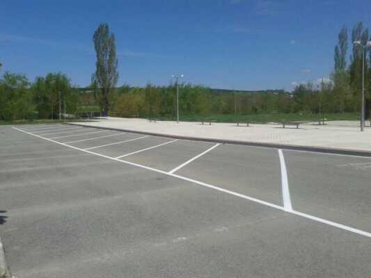 Parking de autocaravanas de Sarriguren
