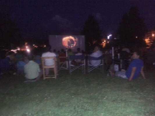 cine de verano en Sarriguren