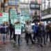 Representantes de la plantilla de Cabelte – Incasa denuncian en el Parlamento la deslocalización de la planta de Egüés